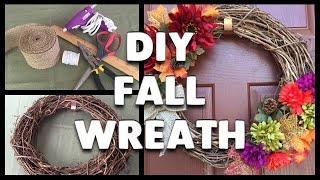 DIY | How to Make a Fall Wreath!