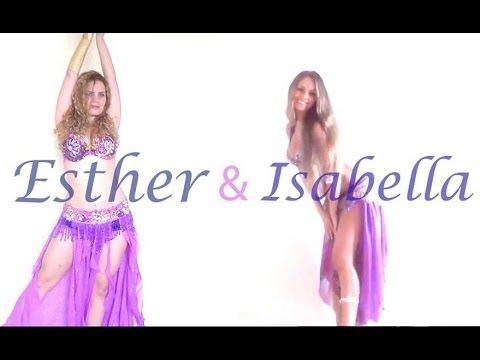 Belly Dance Duo Isabella And Esther 2014