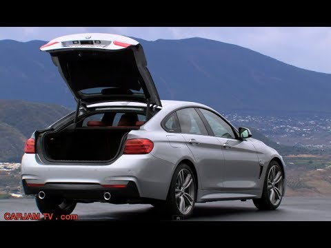 Bmw 4 Series Gran Coup 233 Trunk Auto Boot Opening Commercial