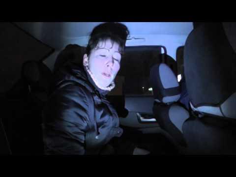 3) Пьяные женщины водители. 9.01.2014. Место происшествия