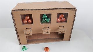 How to make a multi candy vending machine