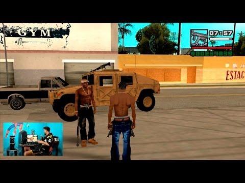 Ajuda de 2 Pac no GTA San Andreas 2013