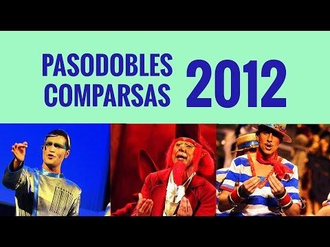 25 Pasodobles De Comparsas Del Carnaval De Cádiz 2012
