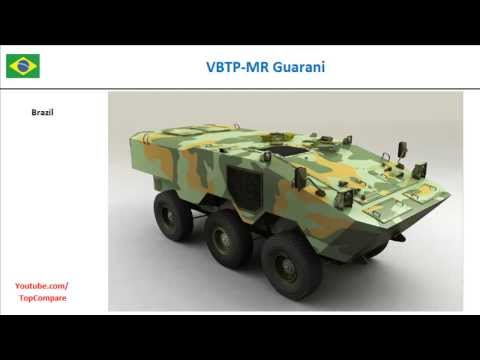 VBTP-MR Guarani and LAV-600, Armored personnel carriers 6x6