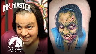 Best Halloween Tattoos 🎃 Ink Master