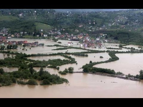 Bosnia and Serbia hit by worst flooding for 120 years