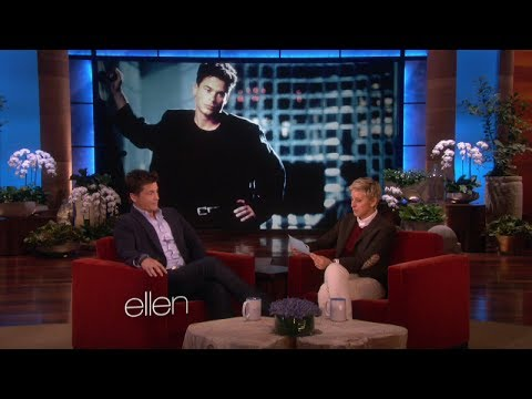 Rob Lowe's Impressive Career on Ellen show