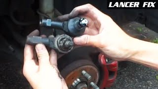 Lancer Fix 16 | Change Outer Tie Rods and DIY Alignment