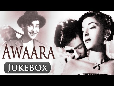 Awaara - Songs Collection - Raj Kapoor - Nargis - Shankar Jaikishan - Lata Mangeshkar - Mukesh