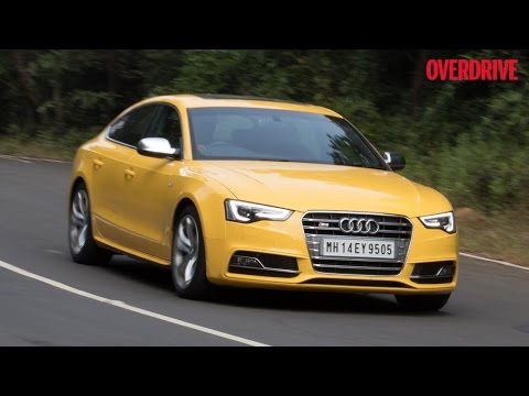 2015 Audi S5 Sportback first drive review (India) by OVERDRIVE