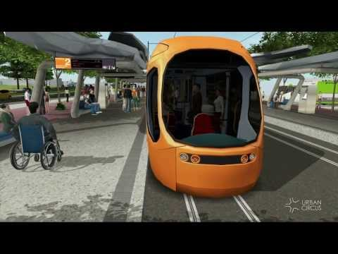 Dis-Embarking (tram and bus) in UC 3D