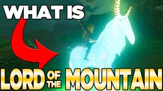 What is Lord of The Mountain - Breath of the Wild Theory | Austin John Plays