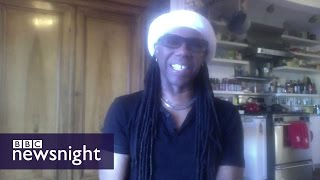Nile Rodgers remembers David Bowie   - BBC Newsnight
