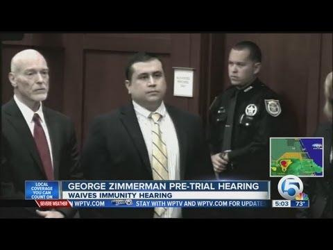 George Zimmernan pre-trial hearing
