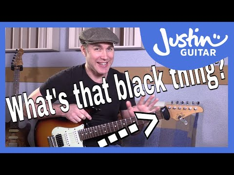 download lagu What`s That Black Thing On Justin`s Headstock? And Why? gratis