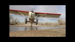 A compilation of landings and takeoffs in a Maule M7.  Too bad they disabled the music