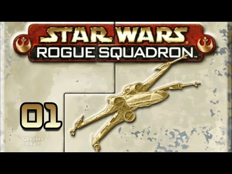 ROGUE SQUADRON 3D #01 - Let's Play (HD) - Mission 1 & 2