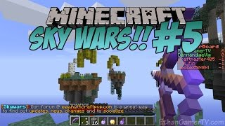 Ethan plays Minecraft: Sky Wars (#5) KID GAMING