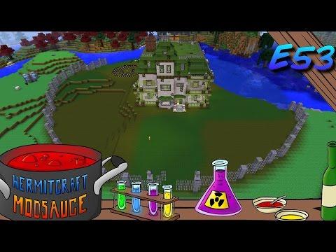 Minecraft Mods ModSauce RITE OF THE SHIFTING SEASONS Hermitcraft Modded Minecraft E53
