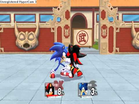 SSBB hack: Shadowkong V2(with Sdo0m´s V2 moveset)