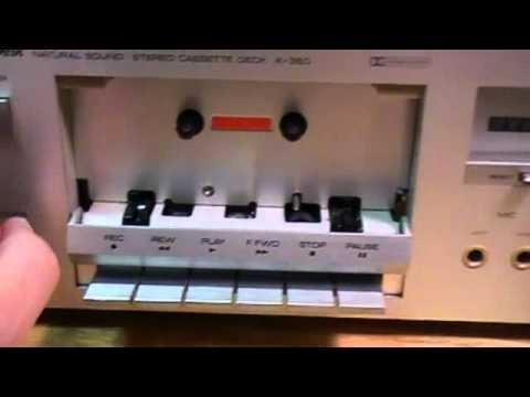 Yamaha Cassette Deck Repair Yamaha Cassette Deck K-350