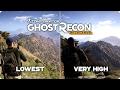 PC Graphics Comparison - Ghost Recon Wildlands - Low vs Ultra Settings