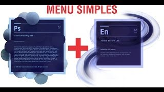 MENU SIMPLES - PHOTOSHOP + ENCORE