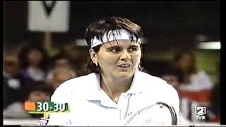 Conchita Martínez & Monica Seles - FED CUP 1996 --- Final