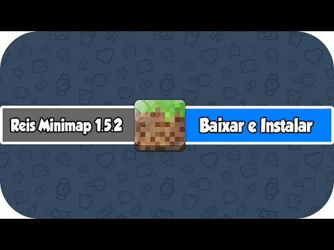 Como Baixar e Instalar Reis Minimap No Minecraft 1.5.2 (HD)