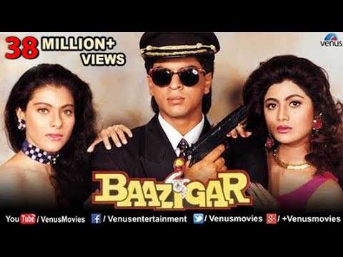 Baazigar - Hindi Movies Full Movie | Shahrukh Khan Movies | Kajol | Shilpa Shetty | Bollywood Movies thumbnail