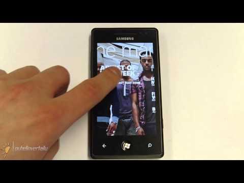 Samsung Omnia 7 - Marketplace. Zune & Xbox Live