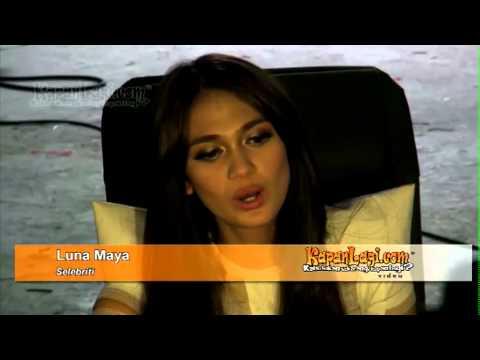 Ditanya Soal Ariel, Luna Maya Menjawab Nakal