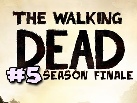 The Walking Dead Episode 5: NO TIME LEFT Walkthrough Ep.5: A SAD