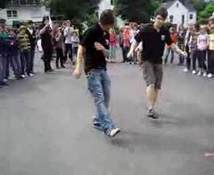Spontan gehüppe am GHR 10er Sturm /no jumpstyle