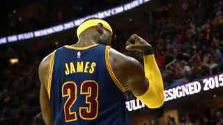Phantom: Lebron James Muscles Up 1st Basket of the Season