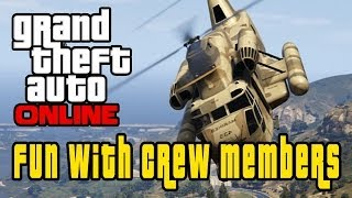 GTA 5 Online: Funny Moments with Crew Members HD!