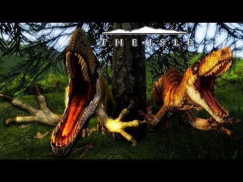 The Isle - NEW UTAH ANIMATIONS & SOUNDS, TRUE JURASSIC WORLD TERROR! ( Gameplay )