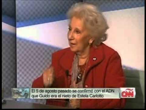 Aristegui entrevista a Estela de Carlotto