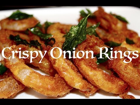 Crispy Onion Ring - Tea Time Snack | மொறுமொறுப்பான வெங்காய ரிங்ஸ் | Onion Rings Recipe