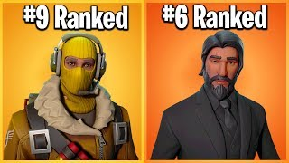 RANKING EVERY LEGENDARY SKIN IN FORTNITE FROM WORST TO BEST