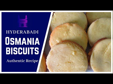 Osmania Biscuit Recipe - Indian Bakery Style Perfect Tea Salt Biscuits