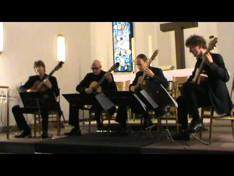 GuitArt Quartett plays Fernando Sor/Gilbert Biberian (III)