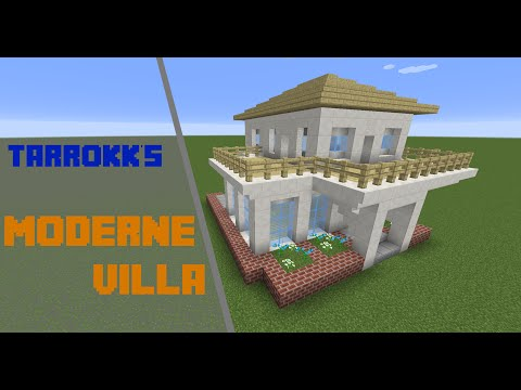 Minecraft moderne villa tutorial deutsch videos68 com for Craftingpat modernes redstone haus
