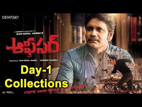 Nagarjuna #Officer Movie First Day Collections | #RGV | Ram Gopal Varma | YOYO Cine Talkies