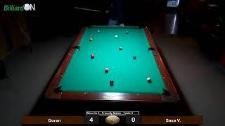 Gran Klub - Billiard Table 5 - Live Streaming by BilliardON.com