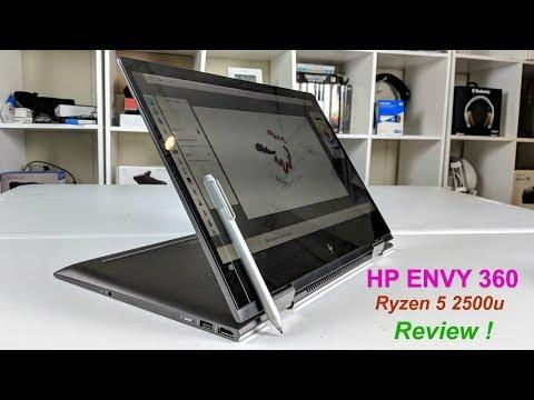 HP Envy 360 15z - Ryzen 5 2500u  Vega 8 Graphics Can it beat Intel ?