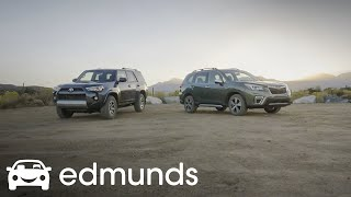 2019 Subaru Forester vs. 2019 Toyota 4Runner TRD Off-Road: Which Is Best On and Off the Road?