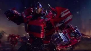 Transformers Bumblebee Movie Scene Optimus Prime vs Decepticon Army (60 fps)