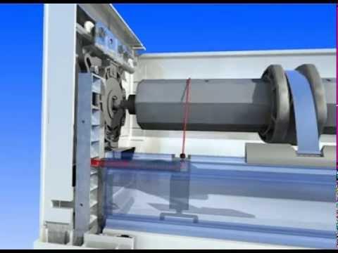 Porte de garage enroulable flo fermeture 65 bagneres for Branchement porte garage electrique