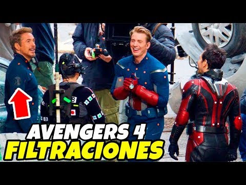 Avengers 4 ¿Realidad Alternativa o Flashbacks a Avengers 1? Nuevas imágenes muy reveladoras del set